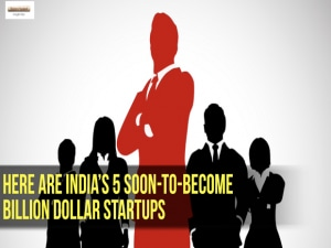 Here are India's 5 soon-to-become billion dollar startups