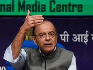 Here is what Arun Jaitley said on Dena Bank, Bank of Baroda and Vijaya Bank amalgamation
