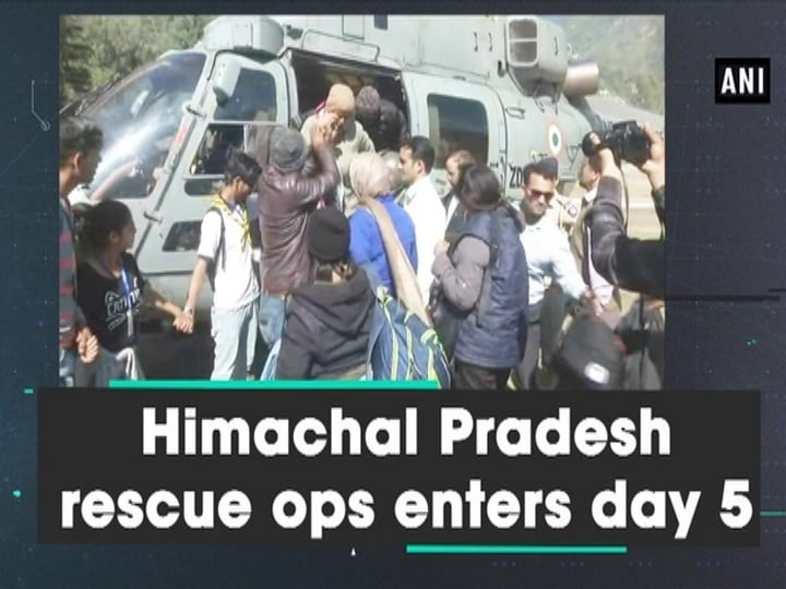 Himachal Pradesh rescue ops enters day 5
