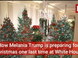How Melania Trump is preparing for Christmas one last time at White House