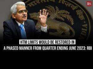 HTM limits would be restored in a phased manner from quarter ending June 2023: RBI