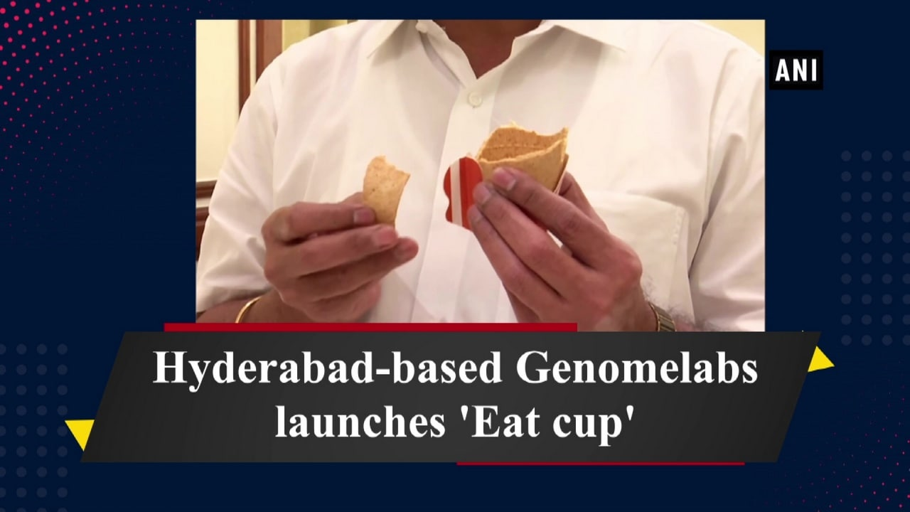 Hyderabad-based Genomelabs launches 'Eat cup'