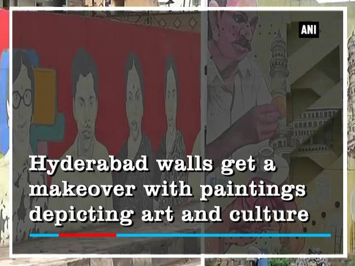 Hyderabad walls get a makeover with paintings depicting art and culture