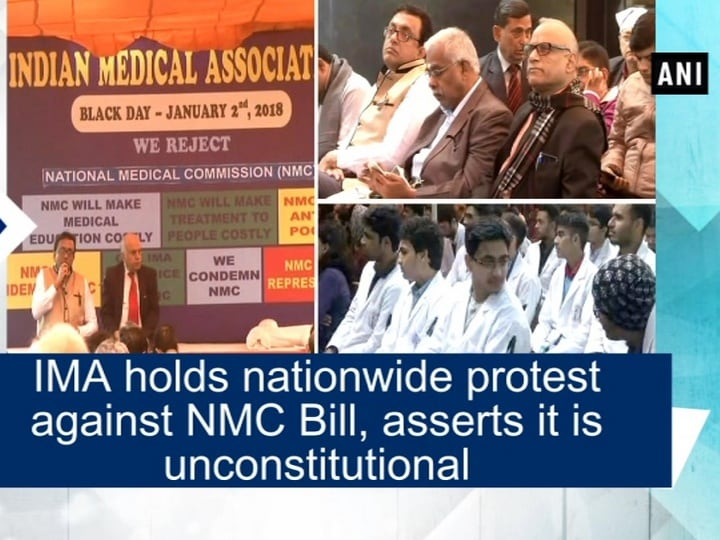 IMA holds nationwide protest against NMC Bill, asserts it is unconstitutional
