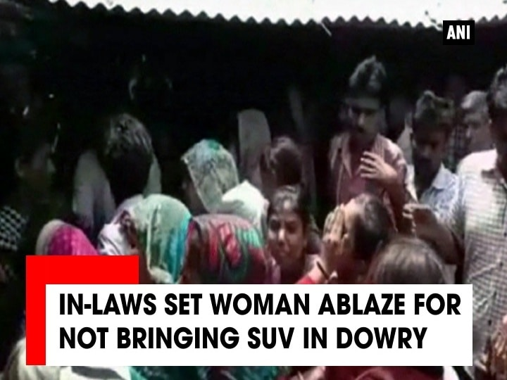 In-laws set woman ablaze for not bringing SUV in dowry