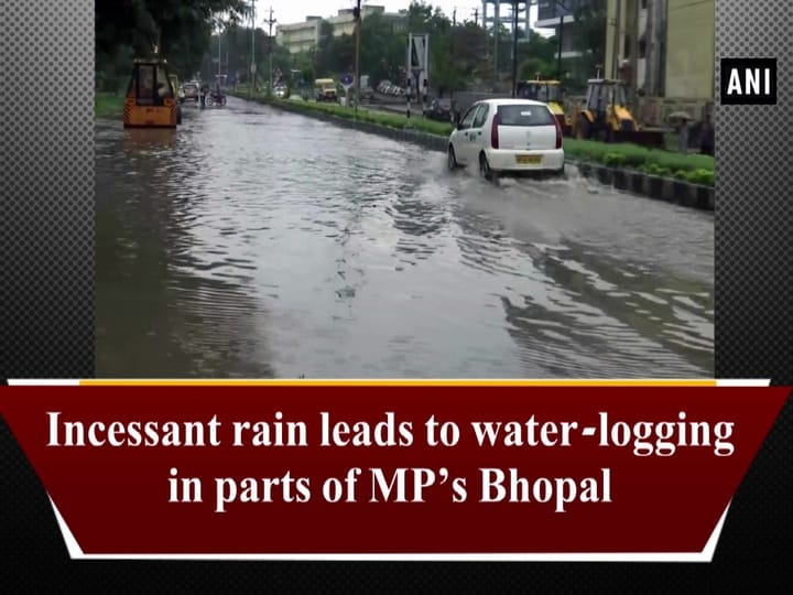 Incessant rain leads to water-logging in parts of MP's Bhopal