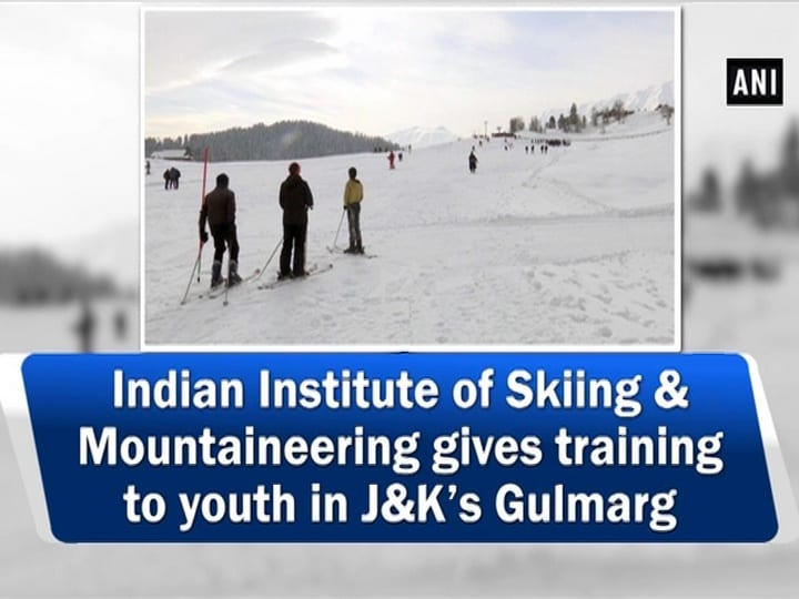 Indian Institute of Skiing and Mountaineering gives training to youth in J and K's Gulmarg