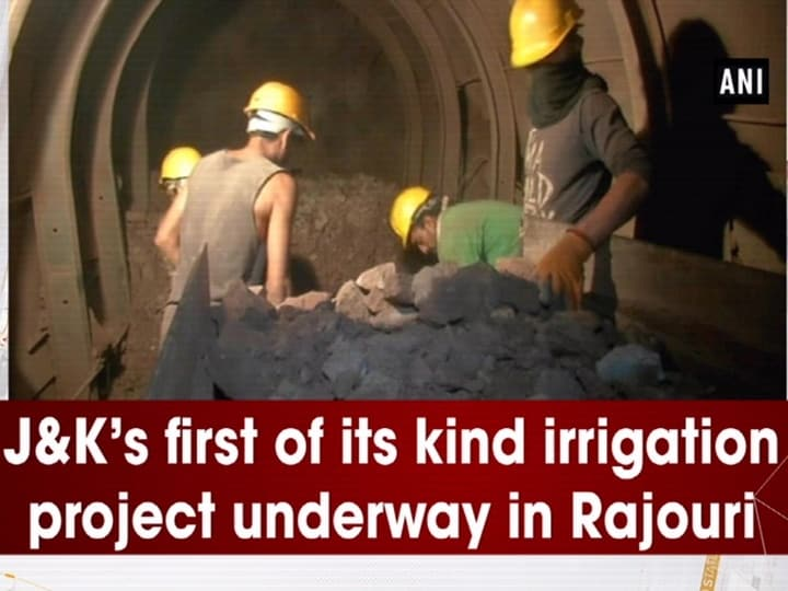 J and K's first of its kind irrigation project underway in Rajouri