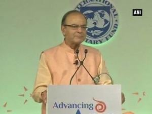 Jaitley thanks IMF for recognizing India as 'bright spot'