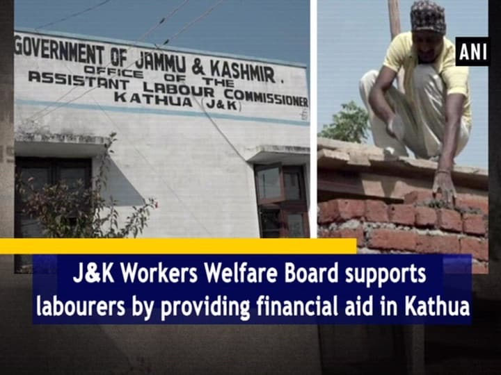 JandK Workers Welfare Board supports labourers by providing financial aid in Kathua
