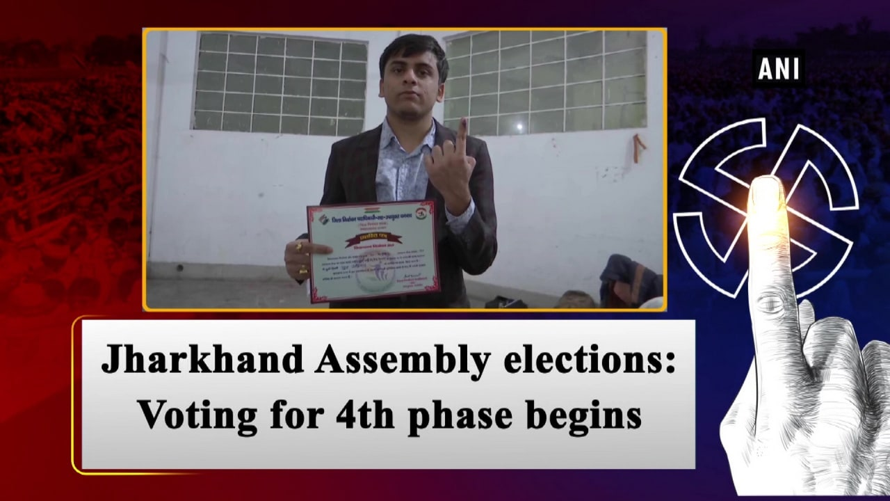 Jharkhand Assembly elections: Voting for 4th phase begins
