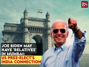 Joe Biden may have 'relatives' in Mumbai: US Prez-elect's India connection