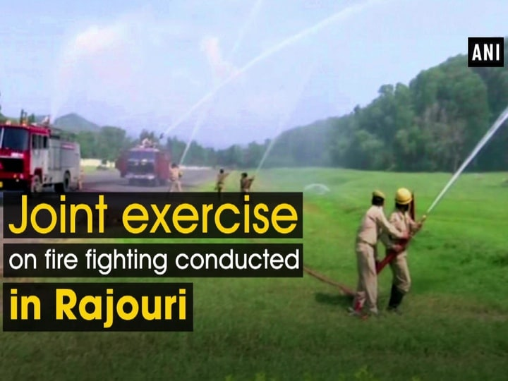 Joint exercise on fire fighting conducted in Rajouri