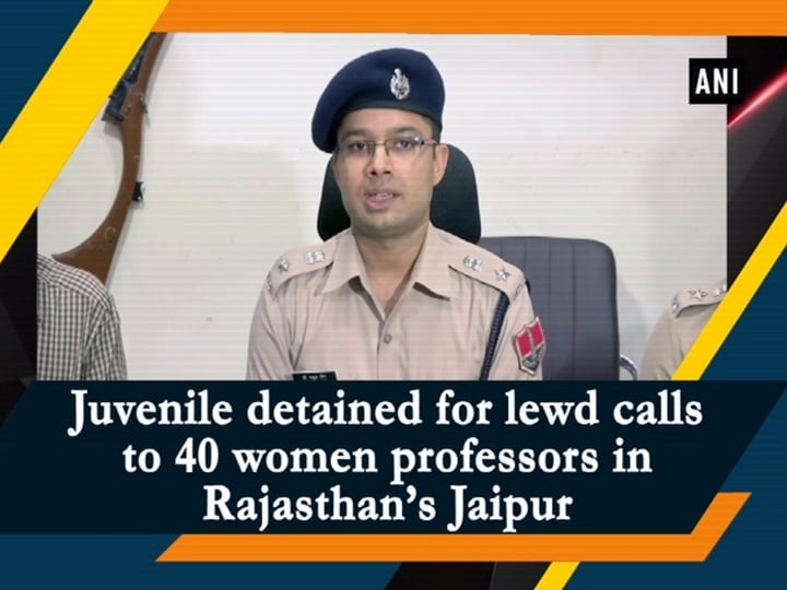 Juvenile detained for lewd calls to 40 women professors in Rajasthan's Jaipur