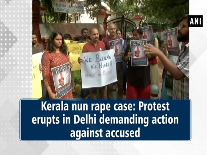 Kerala nun rape case: Protest erupts in Delhi demanding action against accused