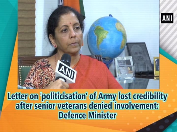 Letter on 'politicisation' of Army lost credibility after senior veterans denied involvement: Defence Minister