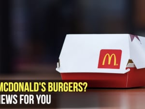 Like McDonald's burgers? Bad news for you