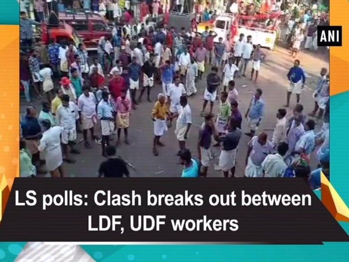 LS polls: Clash breaks out between LDF, UDF workers