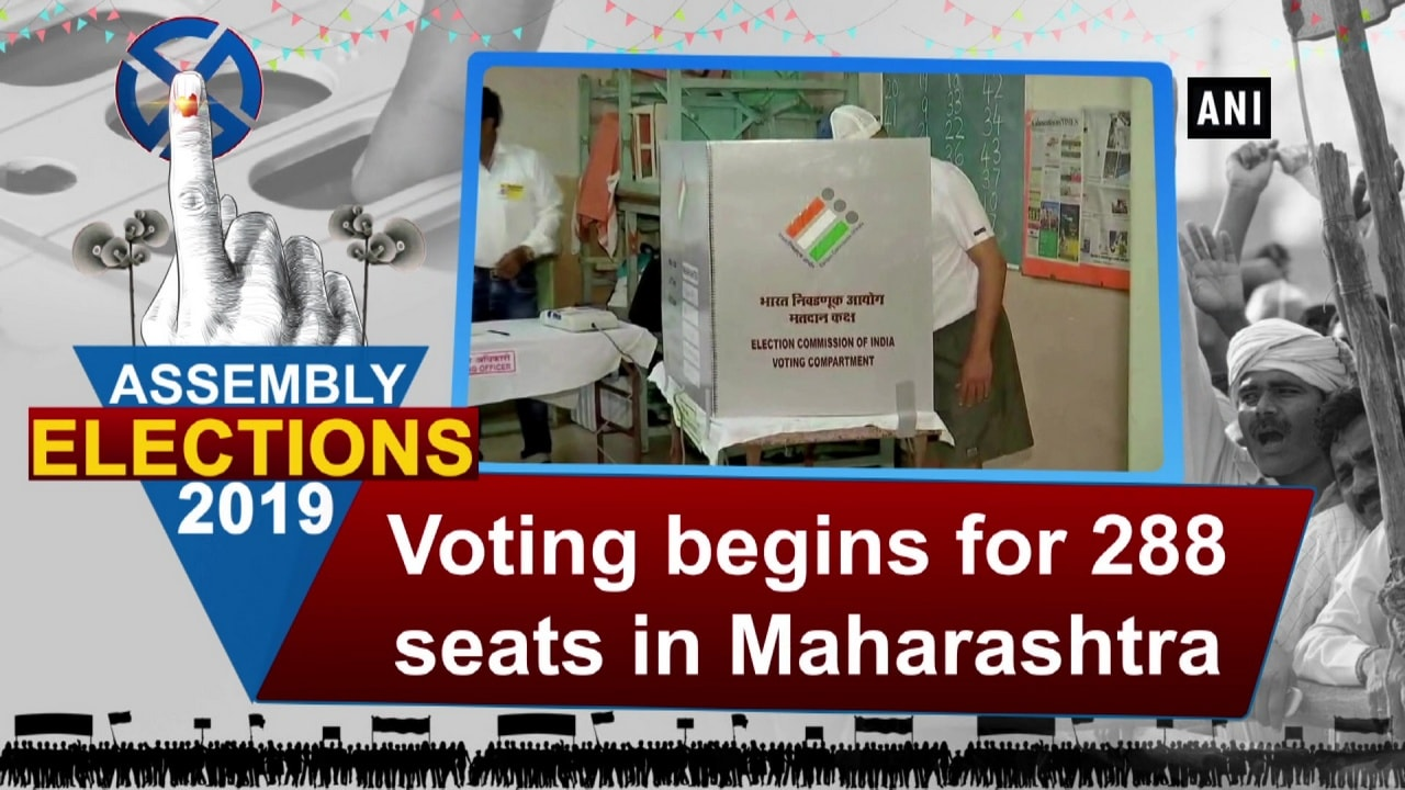 Maharashtra Assembly elections: Voting begins for 288 seats