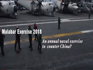 Malabar Exercise 2018: An annual naval exercise to counter China?