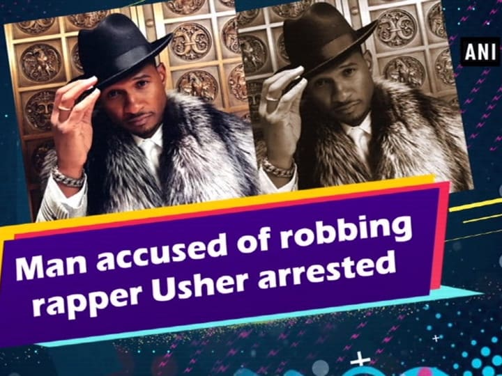 Man accused of robbing rapper Usher arrested