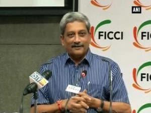 Manohar Parrikar addresses seminar on outsourcing and vendor development at  FICCI (Part - 2)