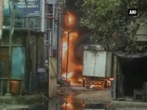 Massive fire breaks out at Kolkata's Dum Dum Power substation