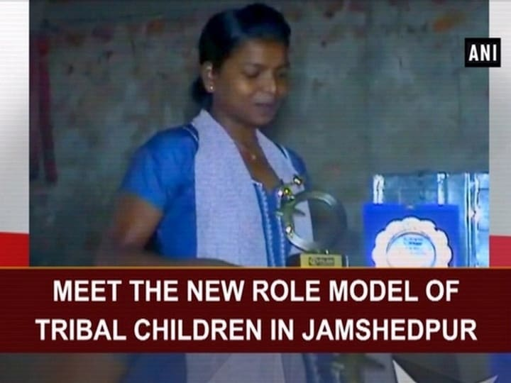 Meet the new role model of Tribal children in Jamshedpur