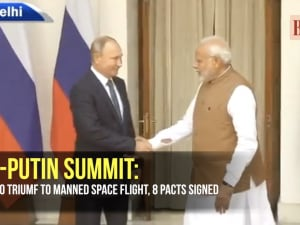 Modi-Putin summit: From S-400 Triumf to manned space flight, 8 pacts signed