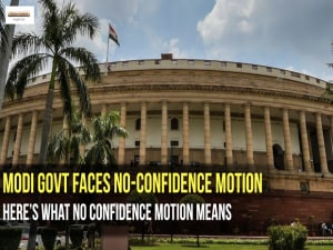 Monsoon Session of Parliament 2018: Modi Govt faces No-Confidence Motion. Here's what it means