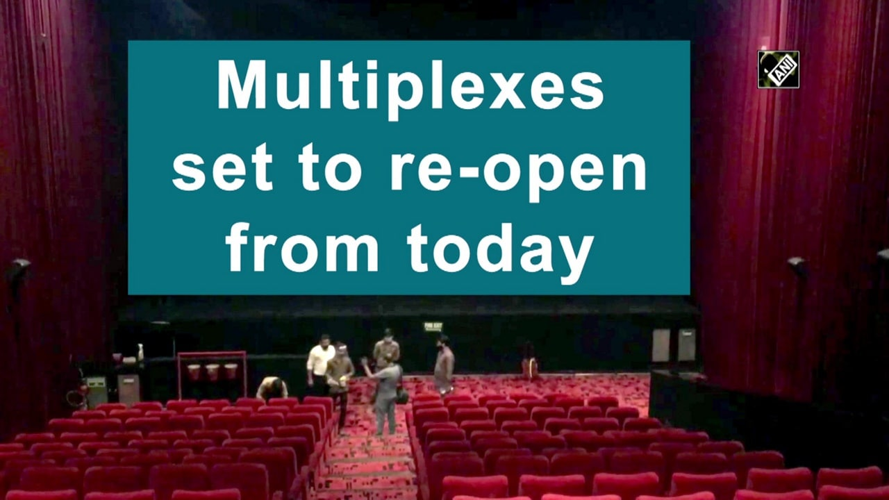 Multiplexes set to re-open from today