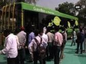 Nagpur city launches eco friendly buses