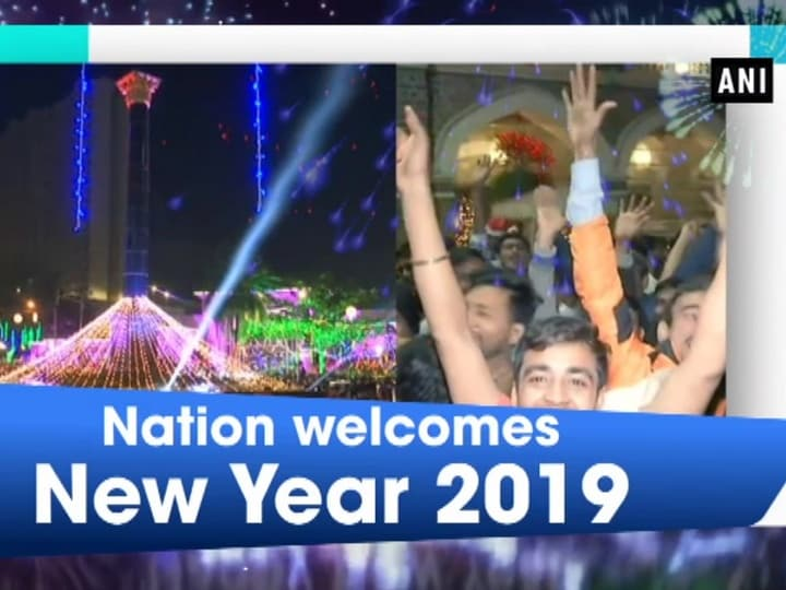 Nation welcomes New Year 2019