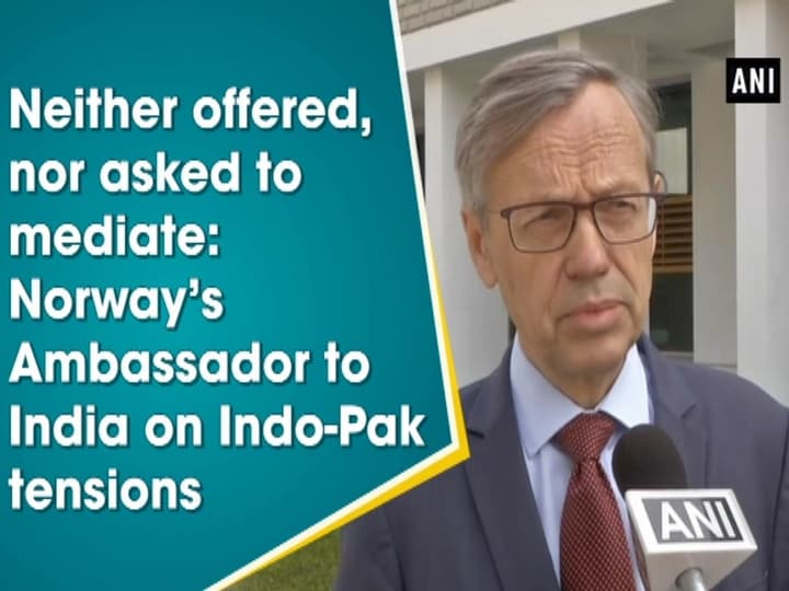 Neither offered, nor asked to mediate: Norway's Ambassador to India on Indo-Pak tensions