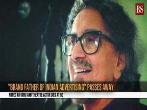 Noted ad guru and theatre actor Alyque Padamsee passes away at 90