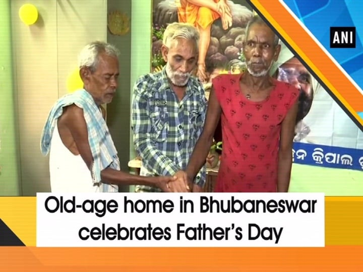 Old-age home in Bhubaneswar celebrates Father's Day