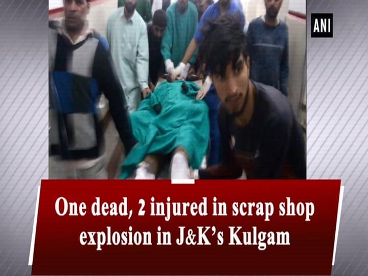 One dead, 2 injured in scrap shop explosion in J- K's Kulgam