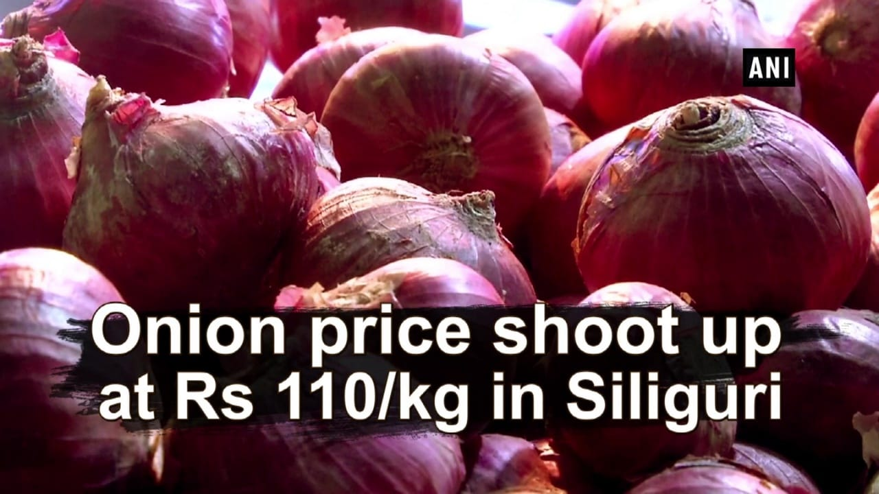 Onion price shoot up at Rs 110 kg in Siliguri
