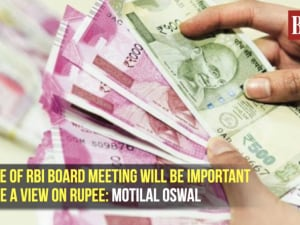 Outcome of RBI board meeting will be important to gauge a view on rupee: Motilal Oswal