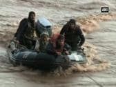 Over 5000 people rescued from flood-hit areas in Kashmir