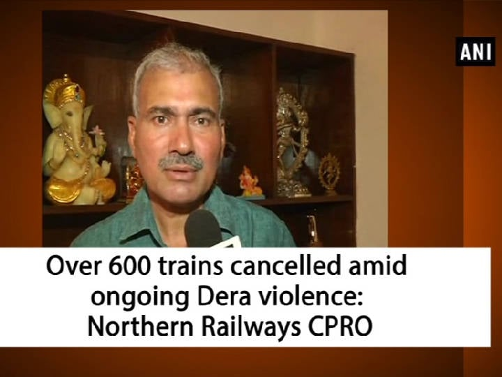 Over 600 trains cancelled amid ongoing Dera violence: Northern Railways CPRO