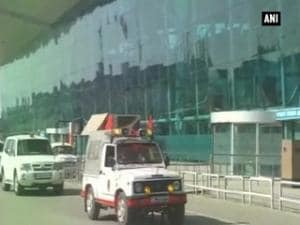 Pakistan JIT leaves for Pathankot from Amritsar Airport