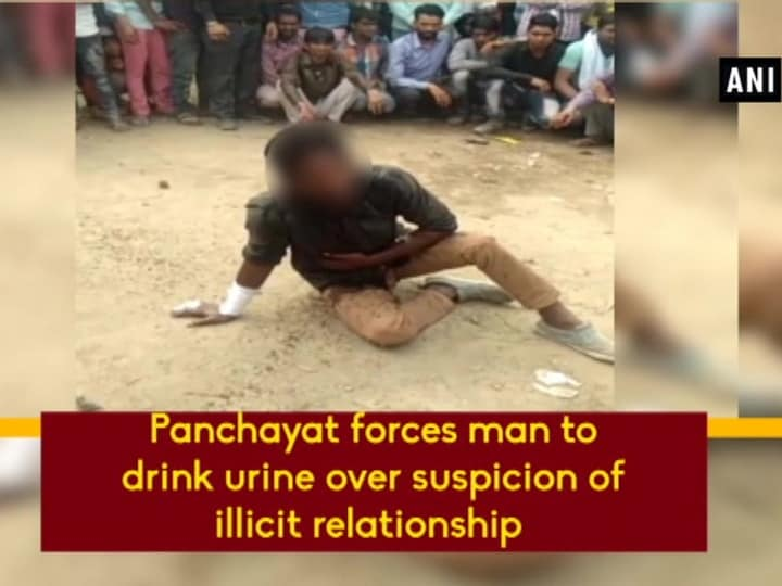 Panchayat forces man to drink urine over suspicion of illicit relationship
