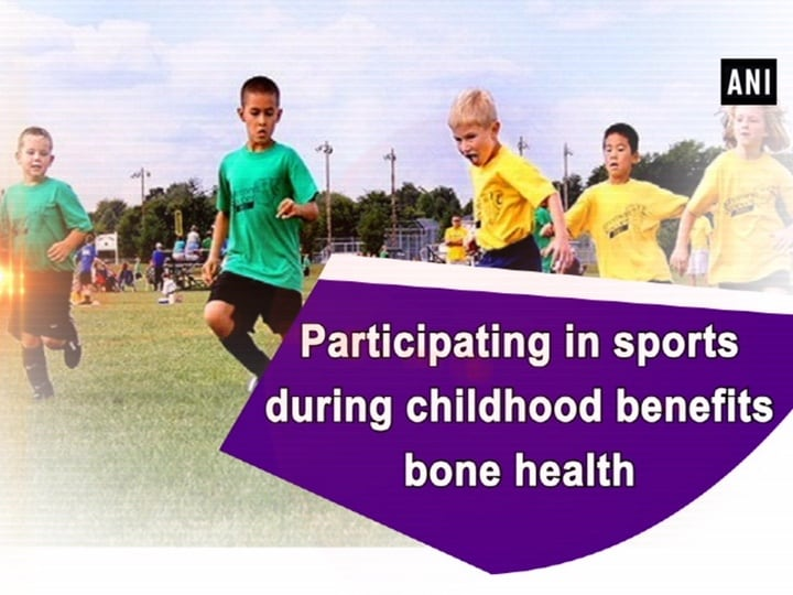 Participating in sports during childhood benefits bone health
