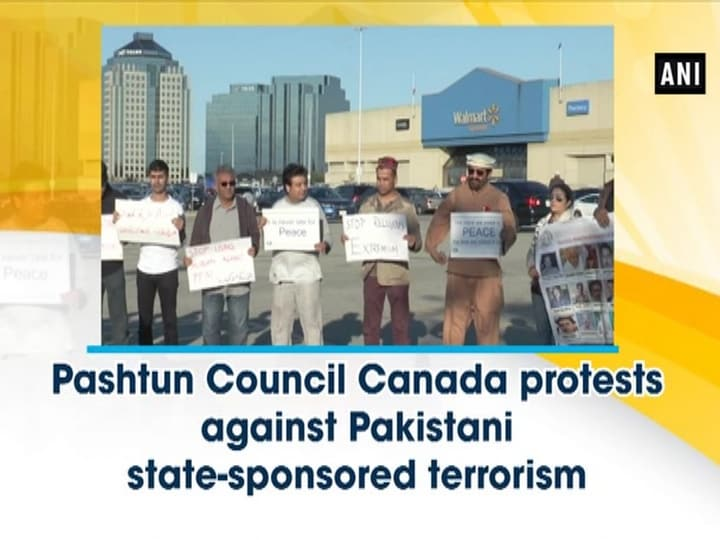 Pashtun Council Canada protests against Pakistani state-sponsored terrorism