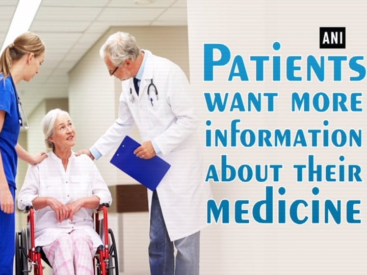 Patients want more information about their medicine