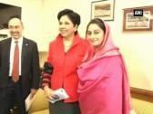 PepsiCo Chairman Indra Nooyi meets Minister of Food Processing Industries Harsimrat Kaur Badal