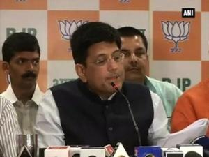 Piyush Goyal cites Bihar's incompetency of power production even post many years
