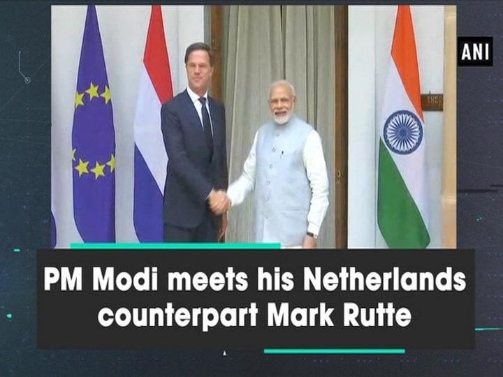 PM Modi meets his Netherlands counterpart Mark Rutte
