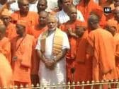 PM Modi visits Belur Math, Dakshineswar temple in West Bengal